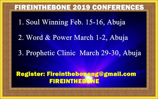 2019 Fireinthebone Conferences