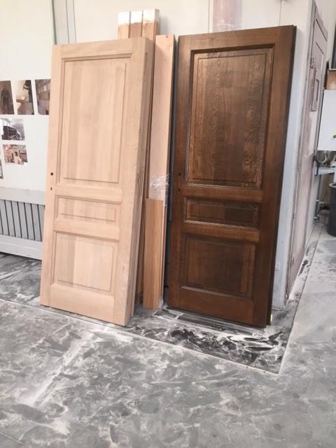 Eiken Keuken Afbijten : Renovatie van eiken deuren