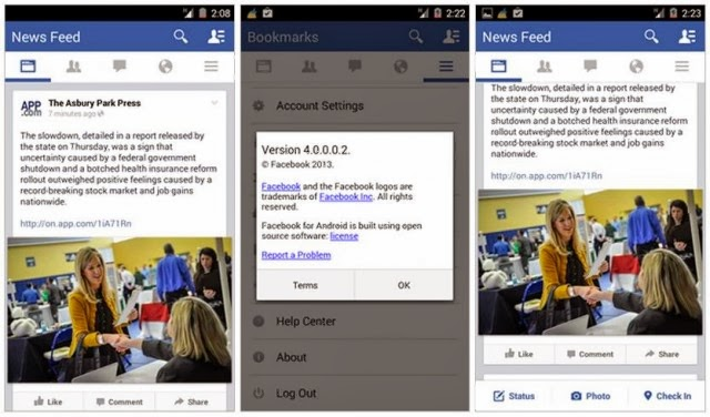 facebook for android terbaru v4.0.0.2 apk