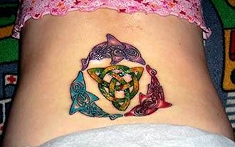 Fotos tatuagens de golfinhos