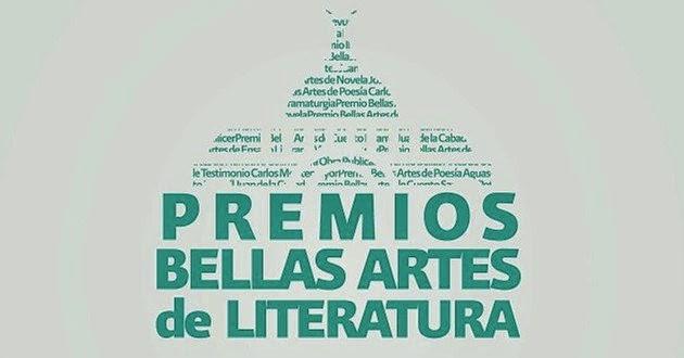Anuncian ganadores de los Premios Bellas Artes de Literatura 2014