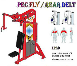 Pectoral Fly Rear Delt Red