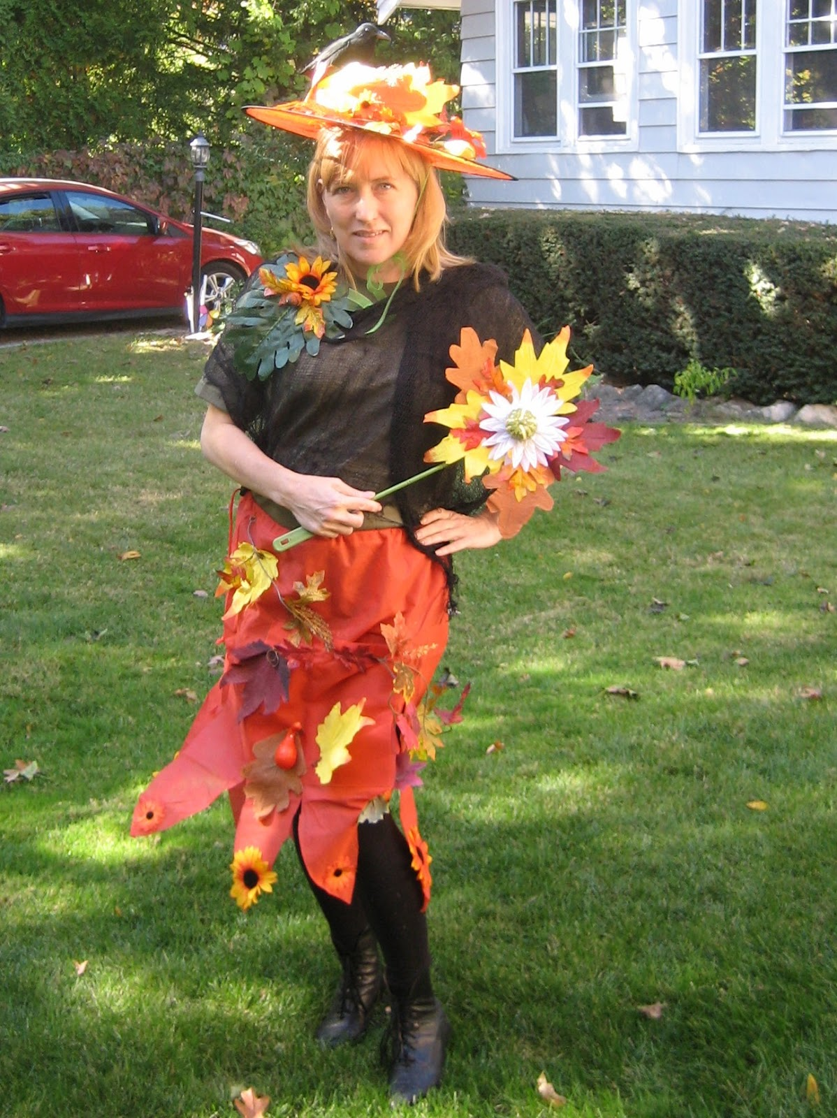 Diy Mother Nature Halloween Costume All About Costumes