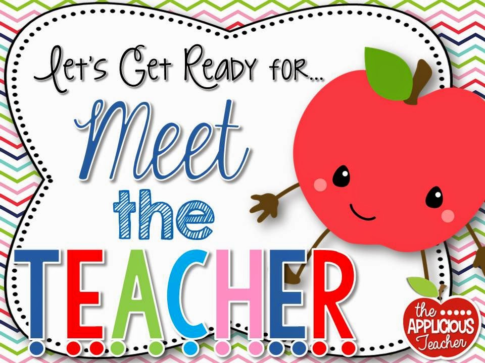 Setting up for Meet the Teacher