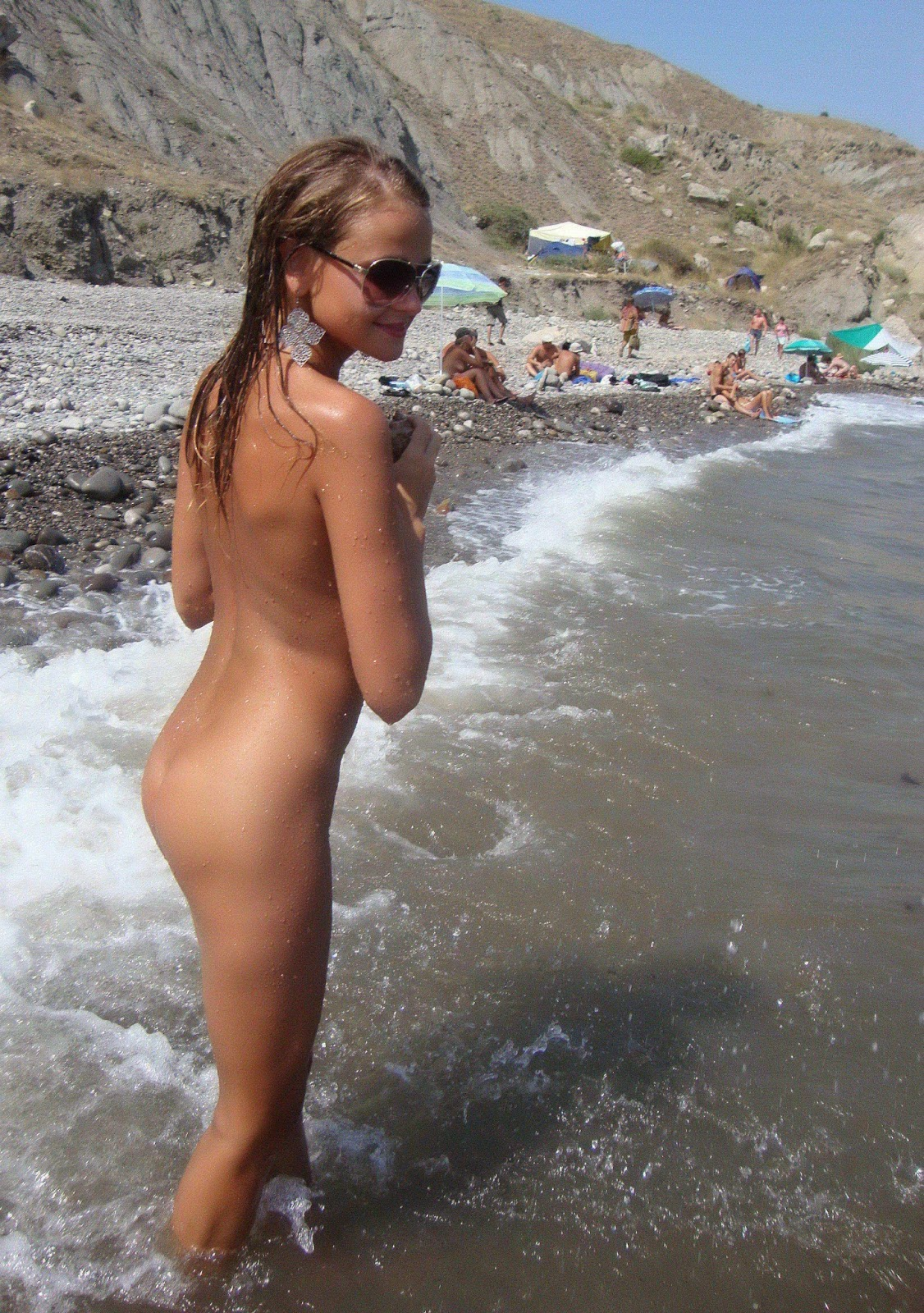 jp nudism Amateur young girls - nude beach - MIX (2014)