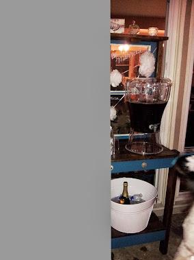 Wedding Shower Beverage Bar!