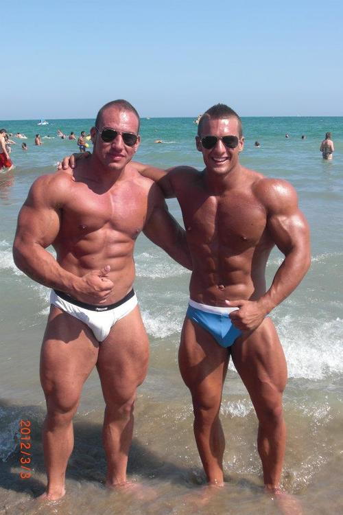 father and son nude beach