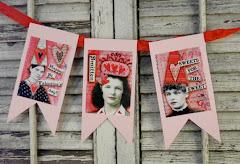 Valentine banner pattern