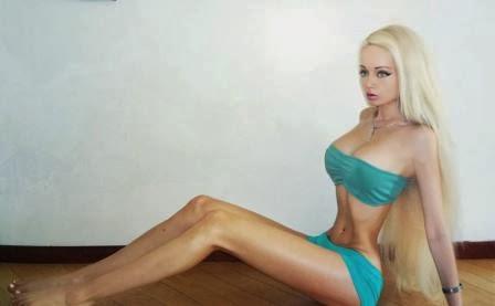 Valeria Lukyanova wanita boneka barbies