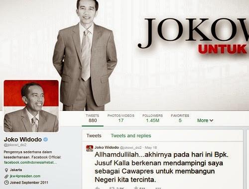 Twitter Jokowi salah tulis hamdalah