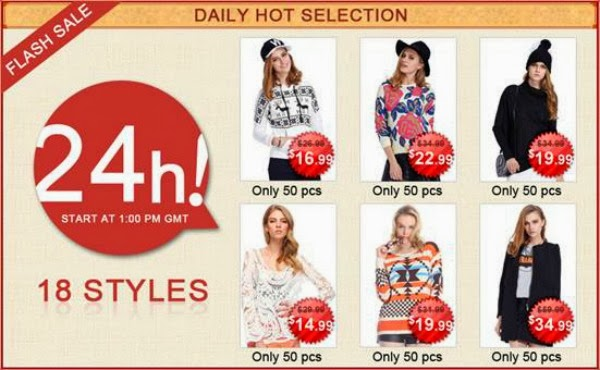 ROMWE 18 Hottest Daily Items Selection & Coupon Giveaway