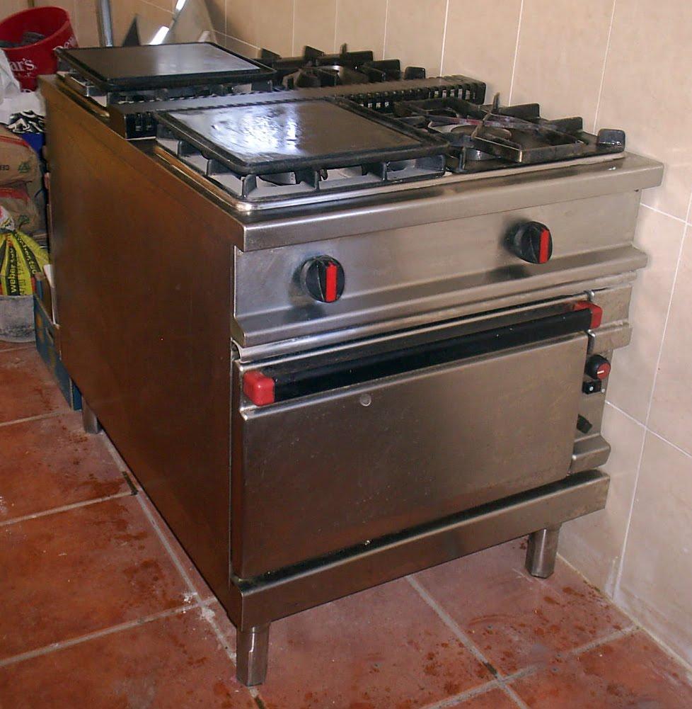 Ag s tr s la batalla for Planchas de cocina industriales de segunda mano
