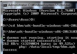 Trik Install Bbm Di PC Tanpa Bluestack/genomotion