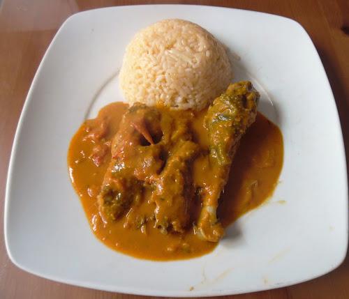 Guiné - gastronomia 1: caldo de mancarra!