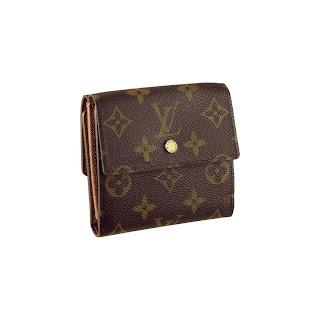 Louis Vuitton Damier Ebene Canvas Elise Wallet N61654