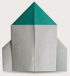 Hướng dẫn cách gấp Tên Lửa bằng giấy đơn giản - Xếp hình Origami với Video clip