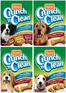 Hartz Crunch 'n Clean Dog Treats