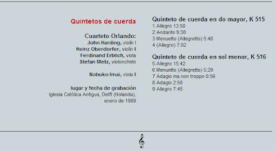 Mozart - Col. El País 250 Aniversario-(2006)-13-Quintetos de cuerda-contenido