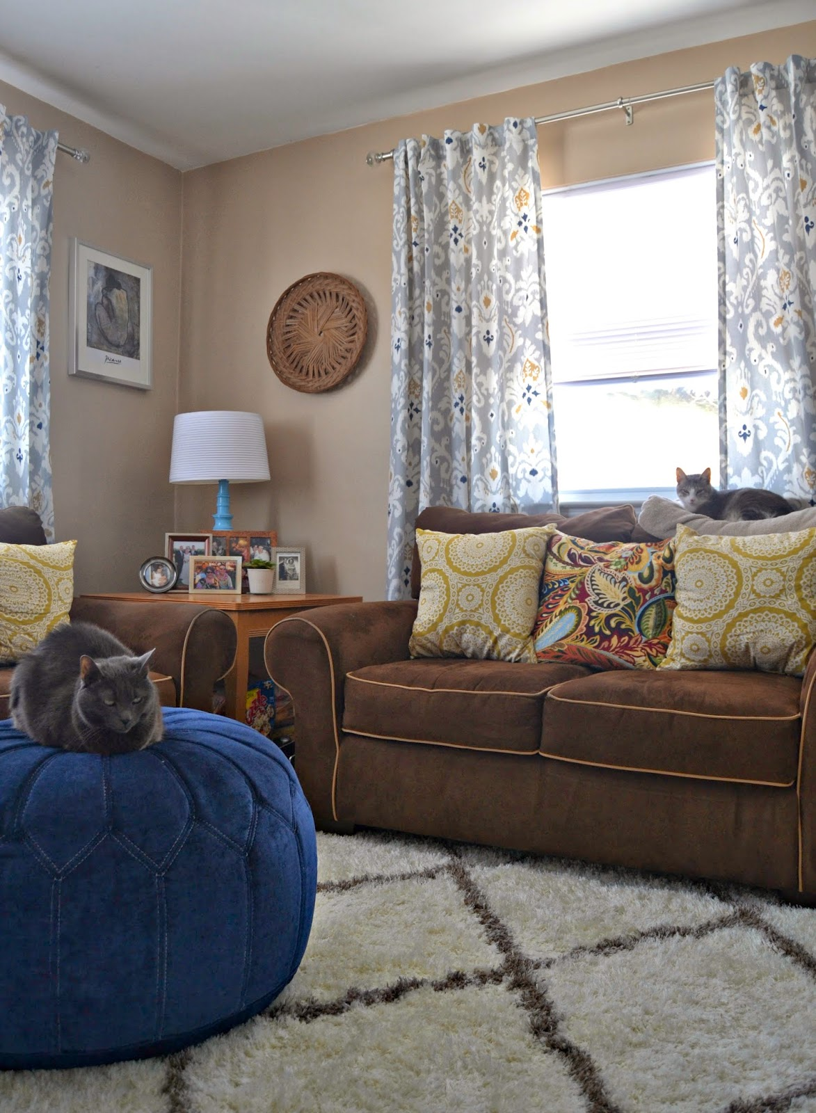 the cape on the corner: step away from the living room-another redo.