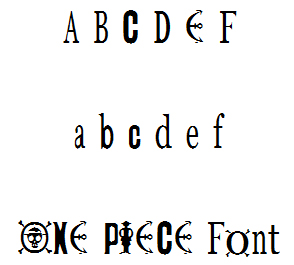 Download Font: One Piece Font