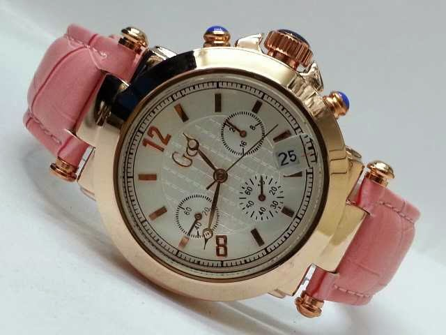 Guess GC Triple Chrono pink