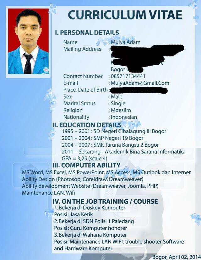 Resume menarik