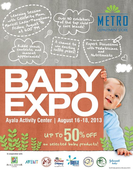 the first-everBaby Expo on Aug. 16-18 at the Ayala Activity Center