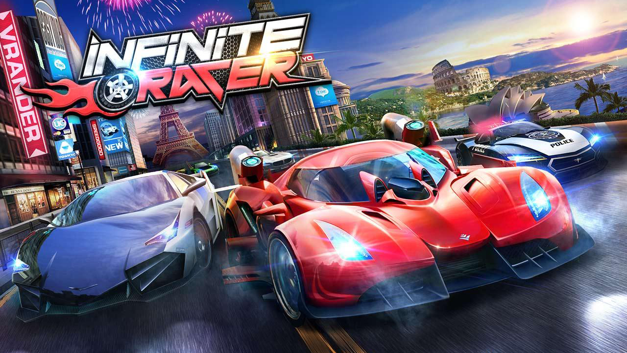 Infinite Racer - Dash & Dodge Gameplay IOS / Android