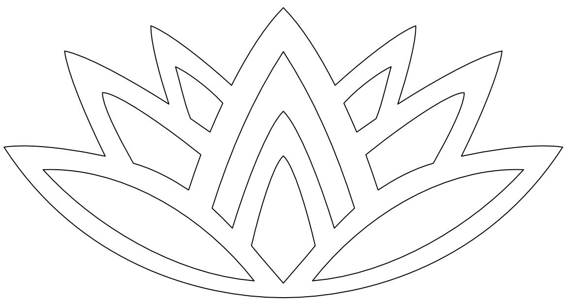 Imaginesque Lotus Pattern