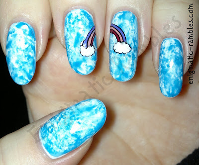 konad-q1-stamping-stamped-rainbow-decal-nail-nails