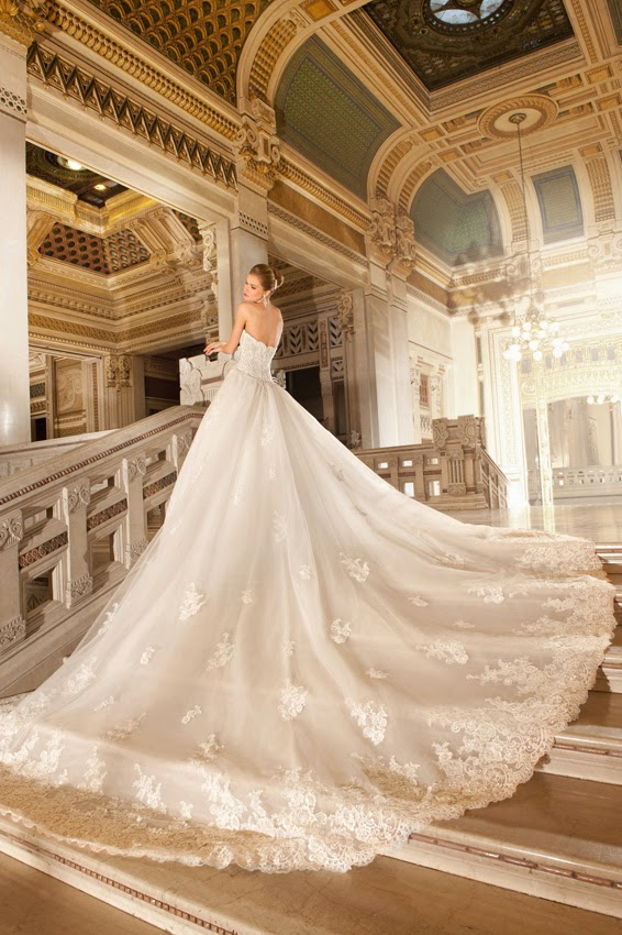 For The Bride Magazine: Fashion: Demetrios 2015 Collection