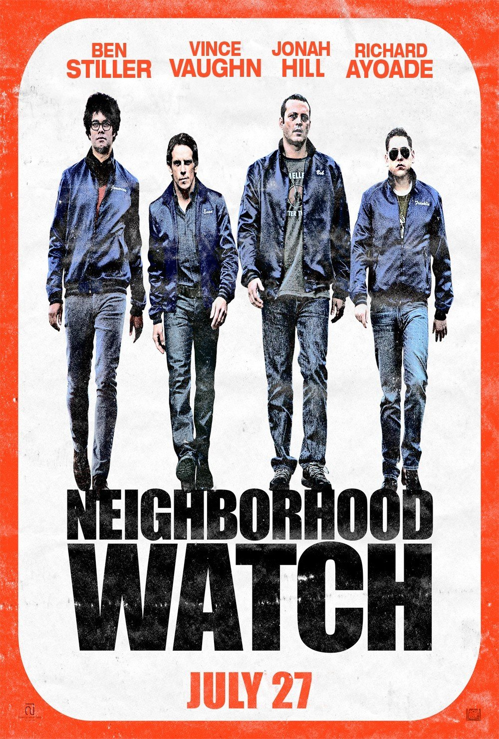 CINEMATIC REVELATIONS  FILM REVIEW OF THE WATCH  2012