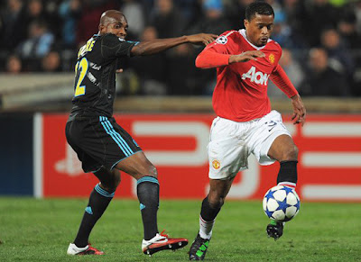 Champions League, Patrice Evra Manchester United 2011