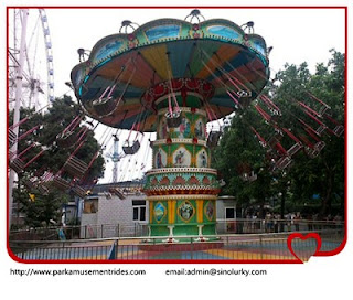 amusement rides flying chair