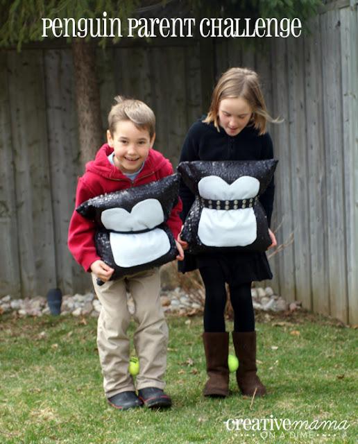 Penguin Parent Challenge - Penguin Party Game