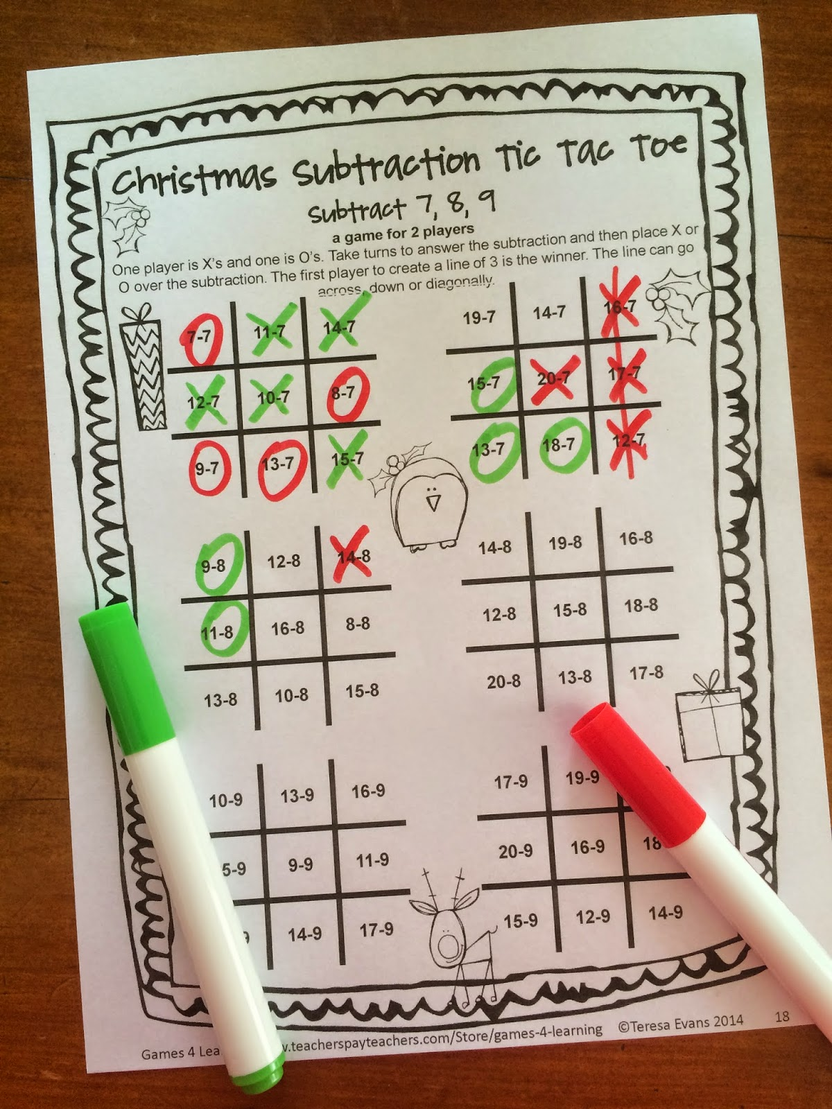 Second Grade Christmas Party Ideas Part - 45: Fun Games 4 Learning - Blogspot