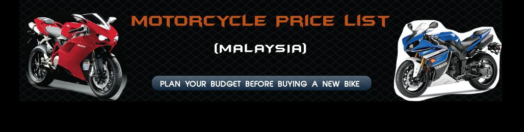 Harga Motosikal di Malaysia