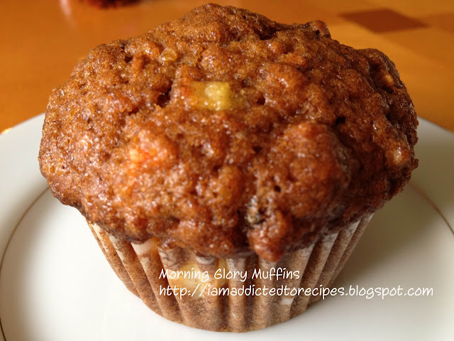 Morning Glory Muffins | Addicted to Recipes