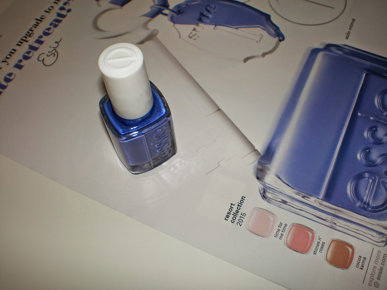 Essie nail polish in Suite Retreat
