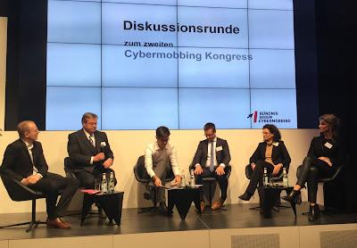 Cybermobbing-Kongress 18.01.2015 in Berlin, Podiumsdiskussion