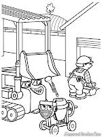 Bob The Builder Sedang Memperbaiki Rumah