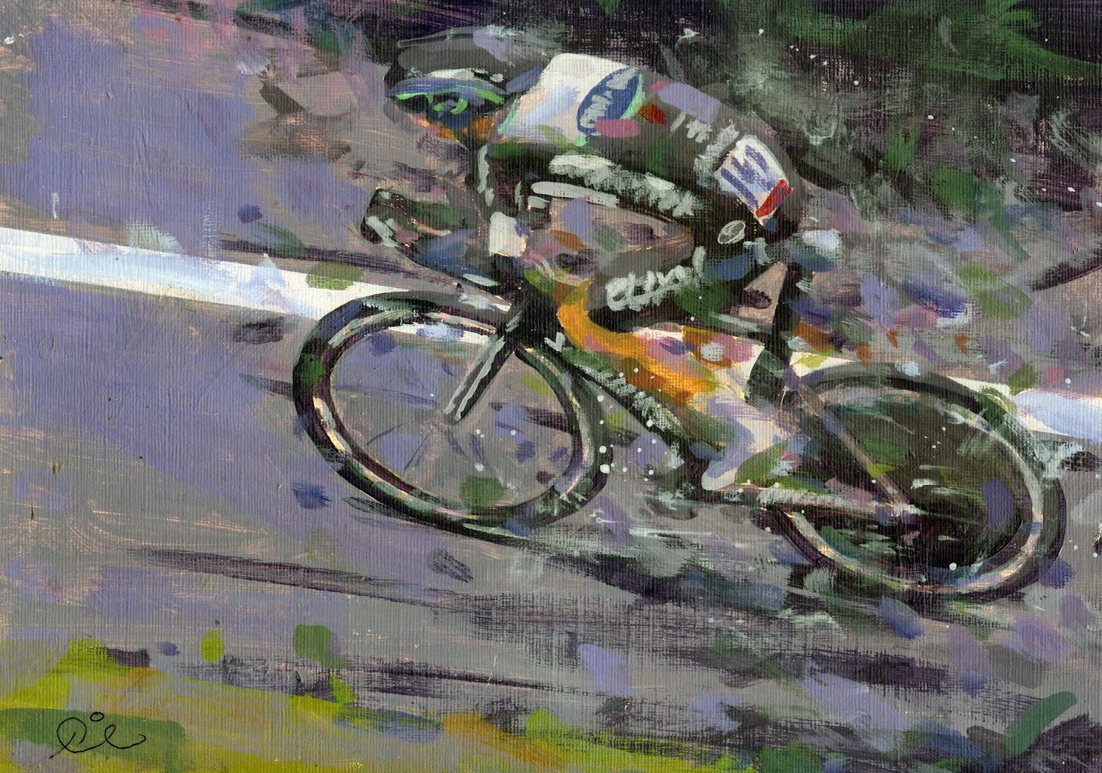 arte y ciclismo Uran