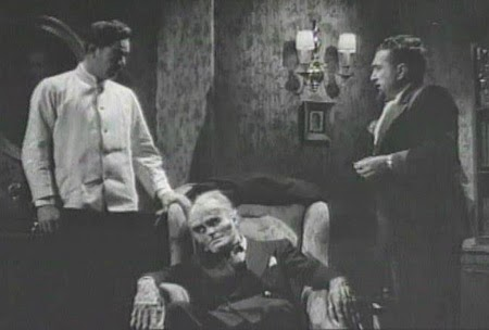 A grim tableau, The Monster Maker (1944)