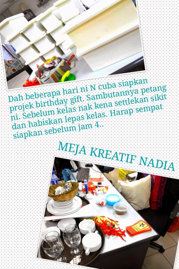 Projek staff birthday gift