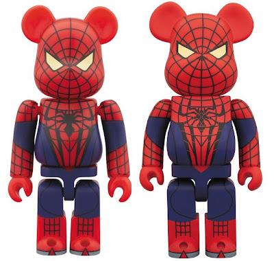 Marvel x Medicom The Amazing Spider-Man - Spider-Man 100% & 400% Be@rbricks