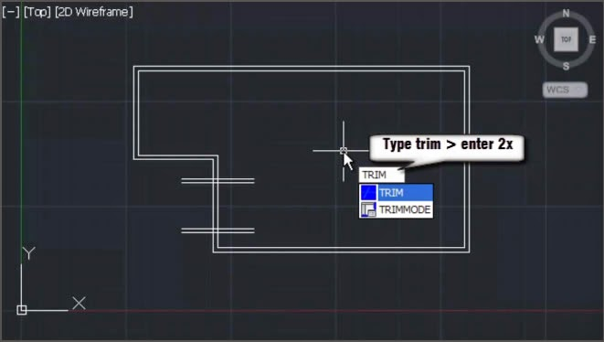 AutoCAD Trim Command