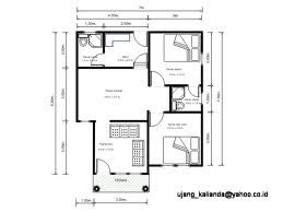 desain rumah tipe 36 dengan 2 kamar tidur