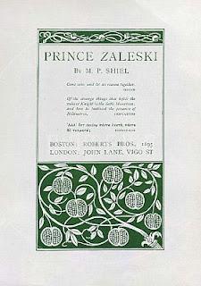 Prince Zaleski, 1895, frontespizio di Aubrey Beardsley