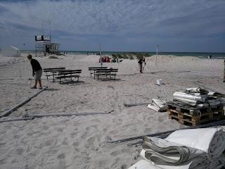 Skanör strand party