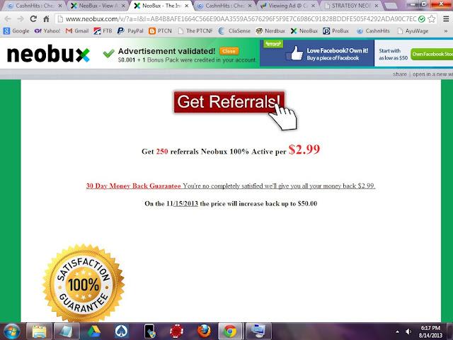 Neobux Master Scam